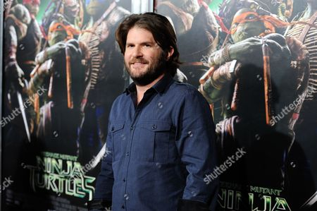 """Director Jonathan Liebesman attends a special screening of """"Teenage Mutant Ninja Turtles"""" at the AMC Lincoln Square, in New York"""