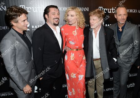 """Editorial image of NY Special Screening of """"Truth"""", New York, USA"""