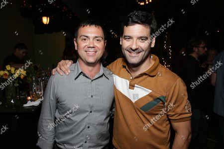 "Creator Joe Lo Truglio and Mather Zickel at Paramount Digital Entertainment Premiere Screening of ""Beef"", in Los Angeles, CA"