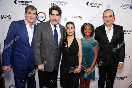 "Editorial image of Participant Media Special Screening of ""Kahlil Gibran's The Prophet"", Los Angeles, USA"