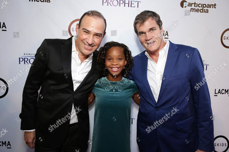 "Editorial photo of Participant Media Special Screening of ""Kahlil Gibran's The Prophet"", Los Angeles, USA"