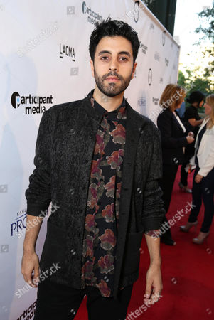 """Mo Aboul-Zelof seen at Participant Media Special Los Angeles Screening of """"Kahlil Gibran's The Prophet"""" held at LACMA's Bing Theater, in Los Angeles"""