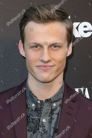 """Connor Weil arrives at the Party for the Film """"Tut"""" at Chateau Marmont, in West Hollywood, Calif"""