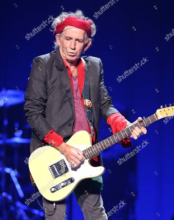 Keith Richards Of The Rolling Stones Performs Final Show On Bands 50 Counting