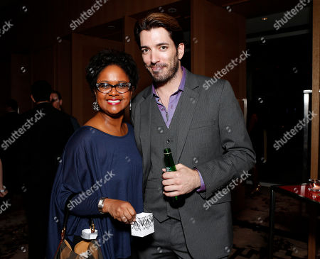 Tonya Lee Williams and Jonathan Silver Scott attend the Producers Ball 2012 at the Shangri-La Toronto, in Toronto, Canada
