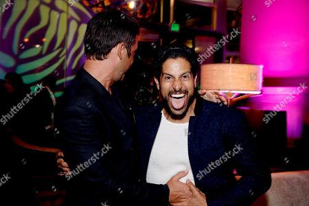 Enrique Murciano and Adam Rodriguez attend the Season 2 Premiere of the Netflix Original Series, BLOODLINE at Landmark Regent Theatre, in Los Angeles
