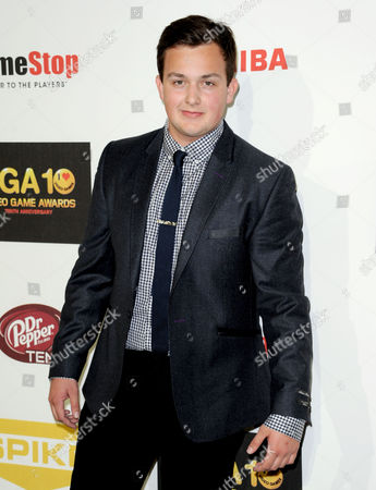 Stock Picture of Noah Munck arrives at Spike's 10th Annual Video Game Awards at Sony Studios, in Culver City, Calif