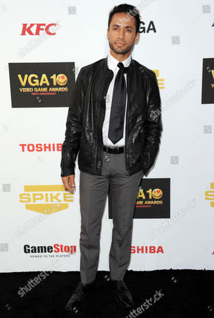Kamar de los Reyes arrives at Spike's 10th Annual Video Game Awards at Sony Studios, in Culver City, Calif