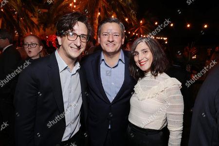 Editorial image of Ted Sarandos' 2016 Annual Netflix Emmy Nominee Toast, Los Angeles, USA