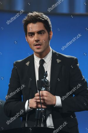 Milos Karadaglic seen on stage at the Royal Albert Hall for the Classical BRIT Awards on in London, UK