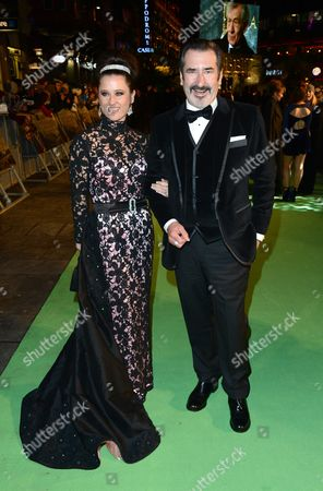 William Kircher and guest seen at the UK premiere of The Hobbit: An Unexpected Journey at The Odeon Leicester Square, in London