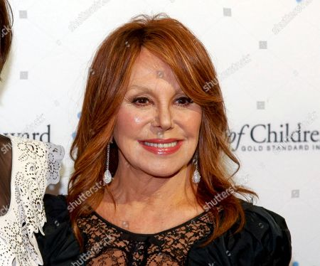 "Stock Image of Marlo Thomas attends the 2014 World of Children Awards in New York. Producers said that Thomas will again star in Tony Award-winning playwright Joe DiPietro Clever Little Lies,"" at the Westside Theatre in September. Thomas will portray a woman trying to help her son save his marriage"