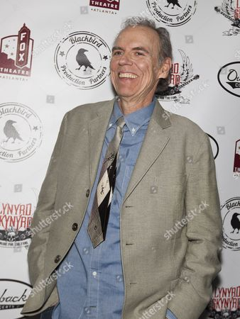 "John Hiatt arrives at ""One More For The Fans - Celebrating The Songs & Music Of Lynyrd Skynyrd"" concert event at The Fox Theatre, in Atlanta"