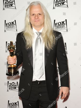 Claudio Miranda arrives at the Twentieth Century Fox & Fox Searchlight Pictures Oscar Party at the LURE on in Los Angeles