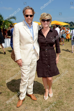 Lord March Lord and Lady March attend the Veuve Clicquot Gold Cup Polo Final at Cowdray Park, West Sussex, on