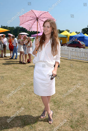 Valentine Fillol Cordier attends the Veuve Clicquot Gold Cup Polo Final at Cowdray Park, West Sussex, on