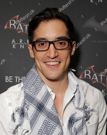 """Keahu Kahuanui attends Warner Bros. Interactive Entertainment's 'Cape/Cowl/Create' event in downtown San Diego - a celebration of the iconic character's 75th anniversary and the upcoming release of """"Batman: Arkham Knight""""., during Comic-Con International 2014 at Hard Rock Hotel San Diego on in San Diego, California"""