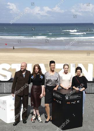 Editorial picture of San Sebastian International Film Festival, Spain - 25 Sep 2017