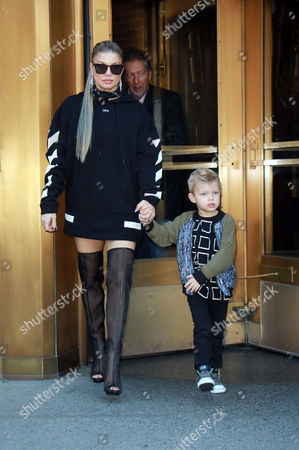 Fergie and Axl Jack Duhamel