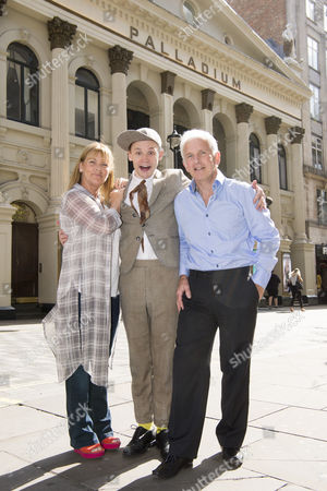 Children of Norman Wisdom Nick and Jaqui with Jack Lane
