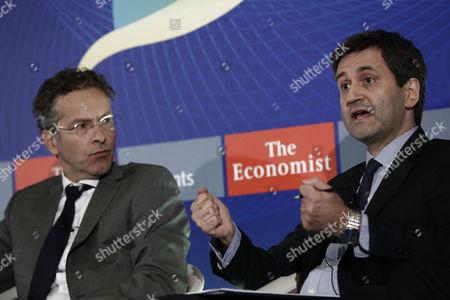 Jeroen Dijsselbloem and George Chouliarakis