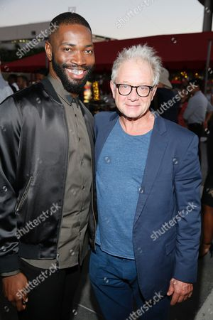 Tarell Alvin McCraney and Jeff Perry