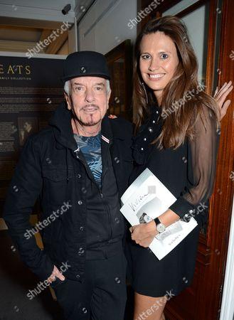 Nicky Haslam and Olivia Cole