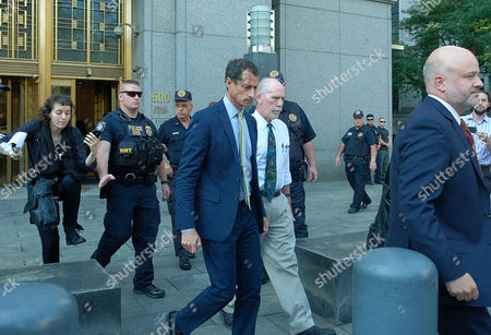 Editorial photo of Anthony Weiner sexting sentencing hearing, New York, USA - 25 Sep 2017