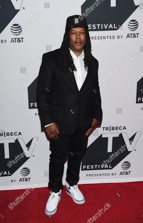 """Author Shaka Senghor attends the """"Released"""" special screening during the Tribeca TV Festival at Cinepolis Chelsea at, in New York"""