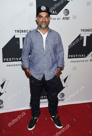 """Author Gotham Chopra attends a special screening of """"Religion of Sports"""" during the Tribeca TV Festival at Cinepolis Chelsea at, in New York"""