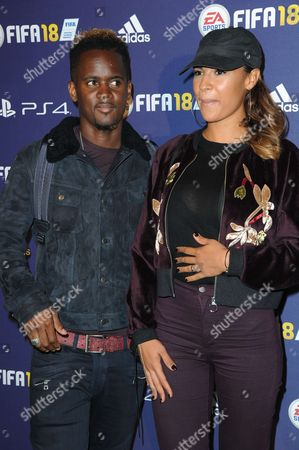 Black M and his wife Lia