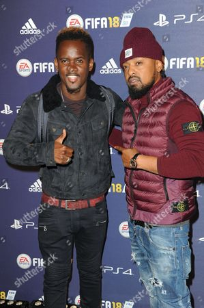 Black M and guest