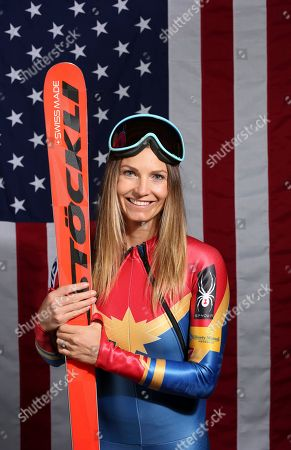 United States Olympic Winter Games alpine skier Julia Mancuso poses for a portrait at the 2017 Team USA Media Summit, in Park City, Utah