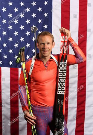 United States Olympic Winter Games biathlon's Lowell Bailey poses for a portrait at the 2017 Team USA Media Summit, in Park City, Utah