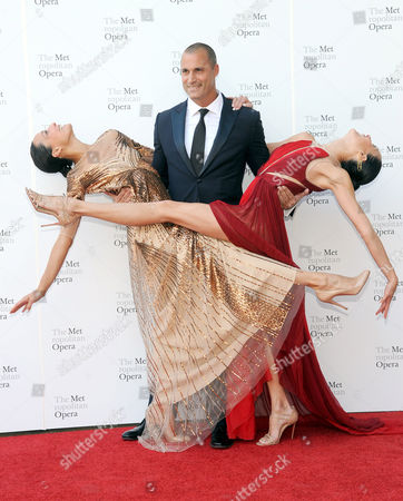 Stock Picture of Chrissy Barker, Nigel Barker and Kimberly Hise