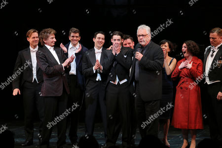 "Editorial photo of ""Harmony"" CTG/Ahmanson Theatre Opening Night, Los Angeles, USA"