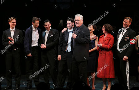 """Editorial picture of """"Harmony"""" CTG/Ahmanson Theatre Opening Night, Los Angeles, USA"""