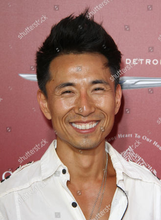 James Kyson Lee arrives at the 13th annual Stuart House benefit at John Varvatos Boutique, in West Hollywood, Calif