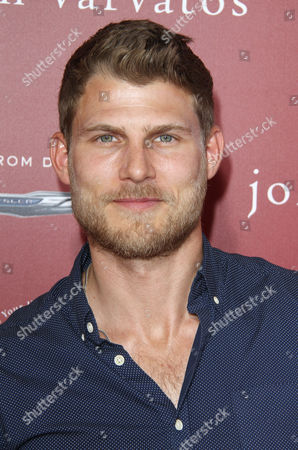 Travis Van Winkle arrives at the 13th annual Stuart House benefit at John Varvatos Boutique, in West Hollywood, Calif