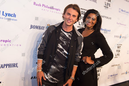 Editorial photo of 2016 Art For Life Benefit - Arrivals, Water Mill, USA