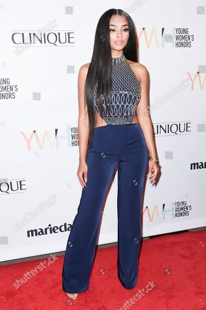 """Jessica Jarrell attends the 2016 Marie Claire """"Young Women's Honors"""", in Los Angeles"""