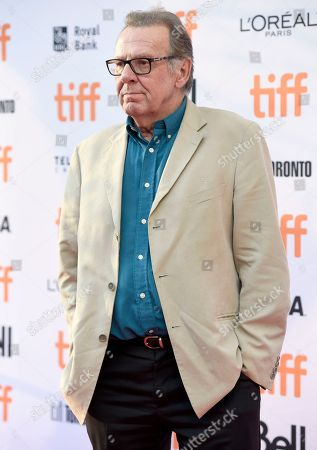 """Tom Wilkinson arrives at the """"Denial"""" premiere on day 4 of the Toronto International Film Festival at the Princess of Wales Theatre, in Toronto"""