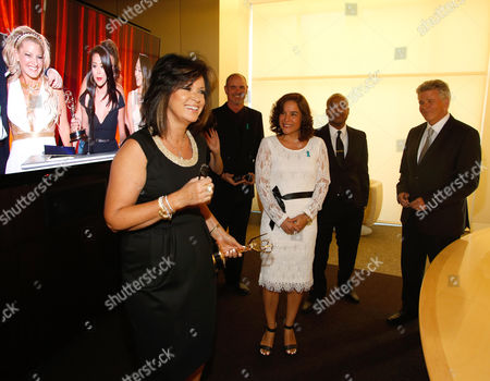 Colleen Williams is seen backstage at the Television Academy's 66th Los Angeles Area Emmy Awards on at The Leonard H. Goldenson Theater in the NoHo Arts District in Los Angeles