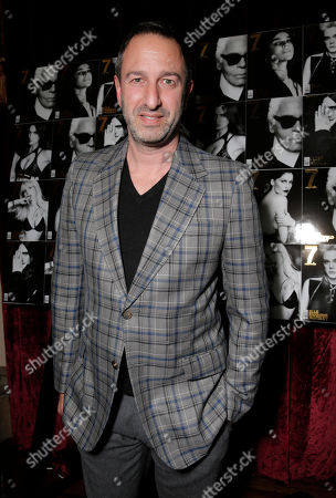 Christos Garkinos attends the 7Hollywood Fantasy Issue Launch Celebration on in Los Angeles