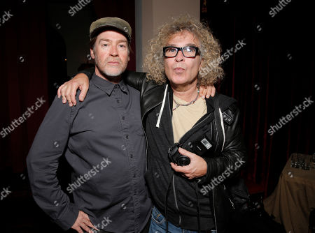 Stock Image of Patrick Hoelck and Brad Elterman attend the 7Hollywood Fantasy Issue Launch Celebration on in Los Angeles