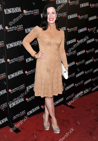 Jacqueline Mazarella arrives at the 7th Annual Hamilton Behind the Camera Awards at The Ebell Theatre on in Los Angeles