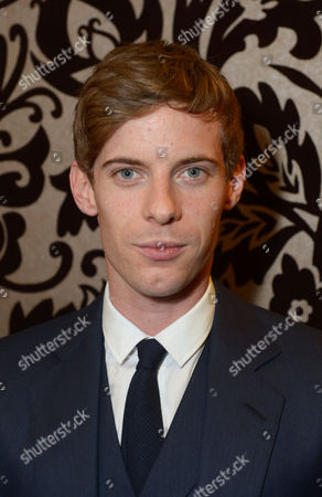 "Luke Treadway is seen at the pre theatre reception for ""A Curious Night at the Theatre"" in London on"
