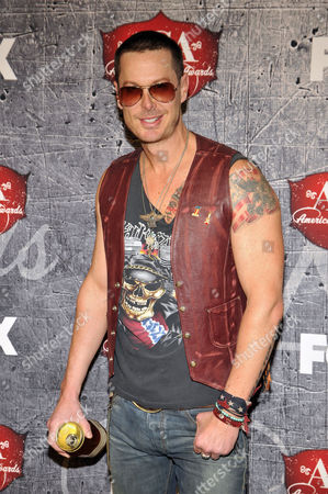 Stock Picture of Recording artist Phoenix Stone arrives at the American Country Awards, in Las Vegas