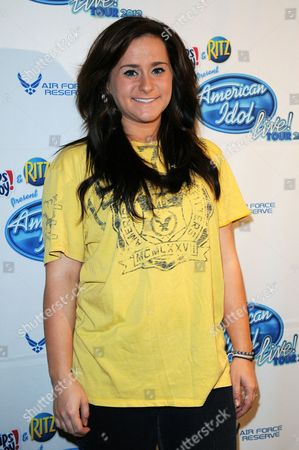 SUNRISE FL - August 3: of the 2012 Skylar Laine of American Idol Live, Season Eleven appears at a pre concert press conference at the Bank Atlantic Center on in Sunrise, Florida