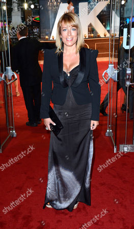 Stock Picture of Faye Ripley poses at Anna Karenina World Premiere at Odeon West End on in London